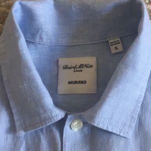 Baird McNutt Murano 100% Linen shirt